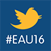 Join the conversation on Twitter at EAU16